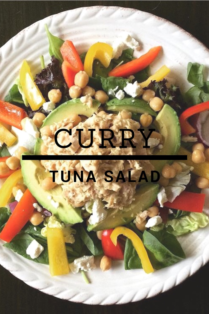Curry Tuna Salad