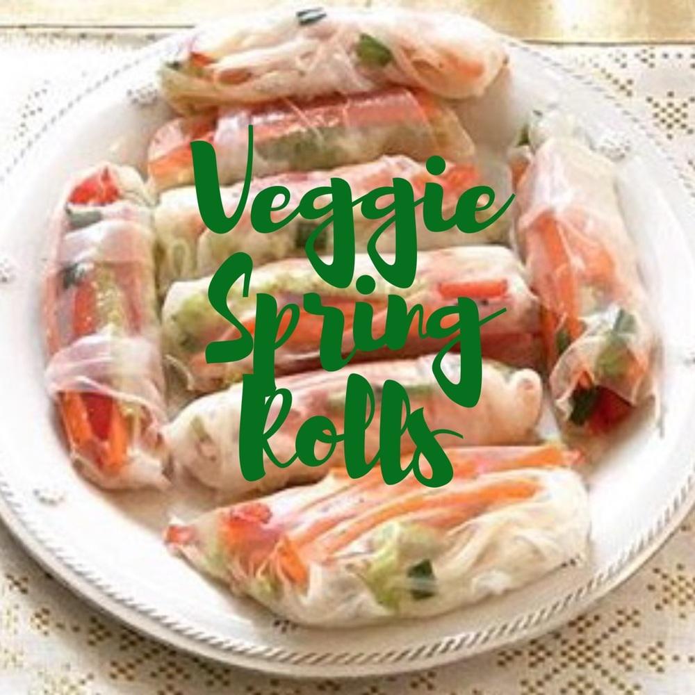 Veggie Spring Rolls Recipe