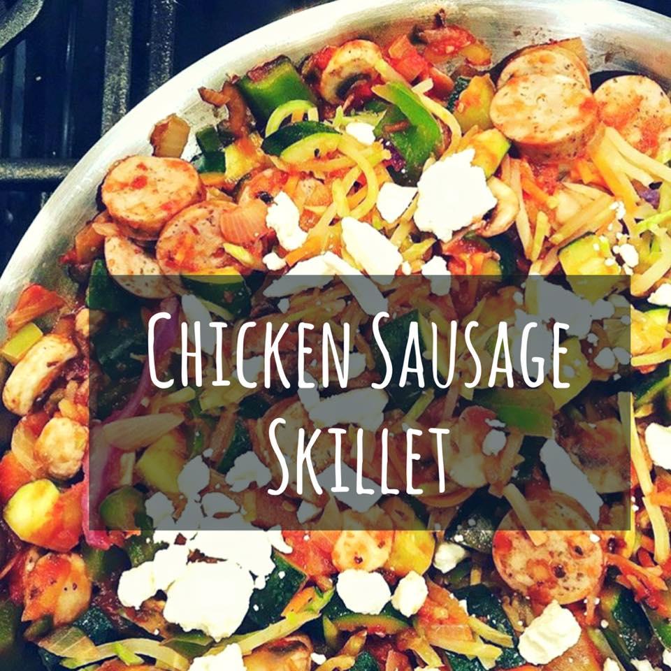 Chicken Sausage Skillet