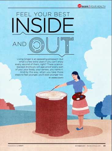 Redbook Interview: Feel Your Best Inside and Out